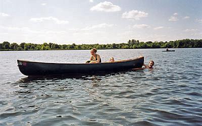 3-Canoe entrance amid lake