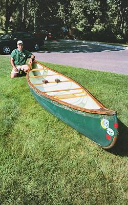 Whitney's canoe