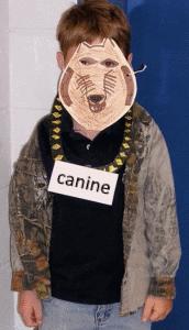canine costume