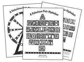 Fabulous Fair Alphabet Coloring Sheets