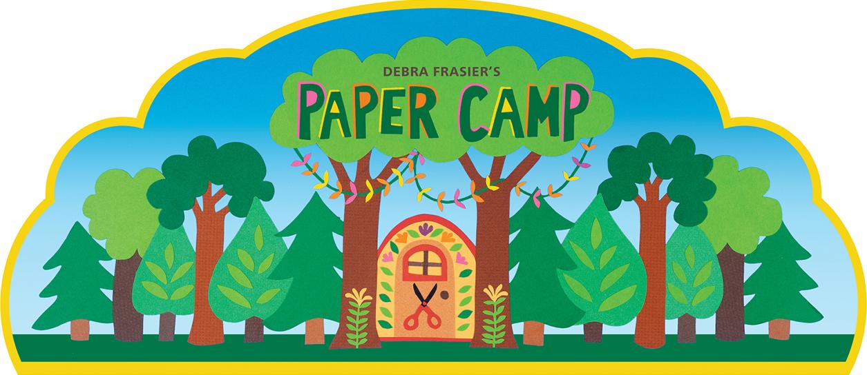 Debra's Paper Camp Logo